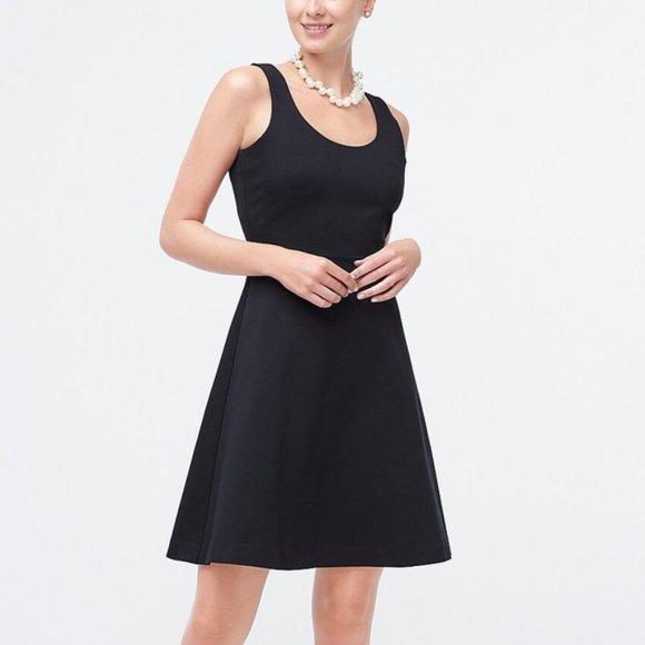 NEW J.Crew Black Strappy A-Like Dress